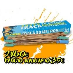 2 Madejas Trac 30 m. Tronadora