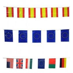 Banderas Plástico