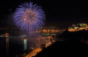 Venta de fuegos artificiales en Andalucia